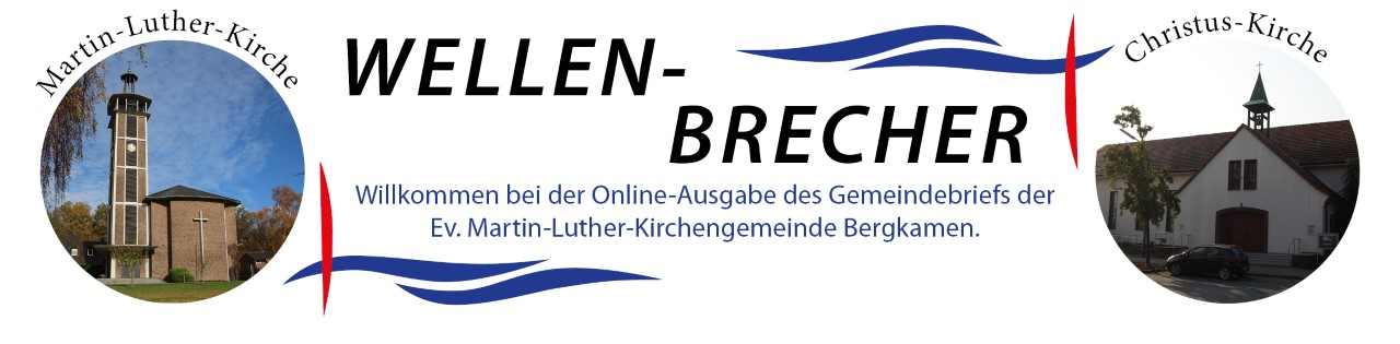 wellenbrecher der Evangelischen Martin-Luther-Kirchengemeinde Bergkamen